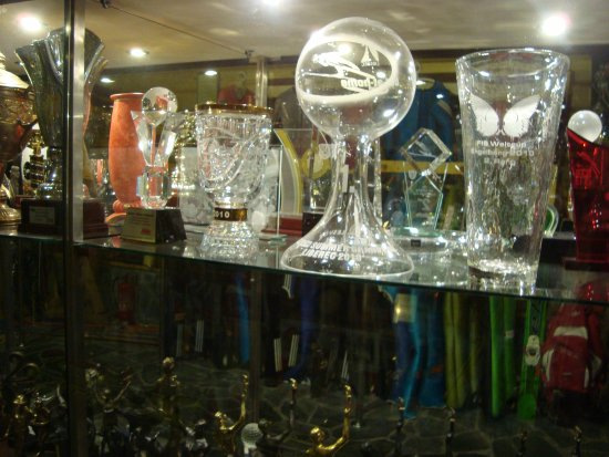 Sports trophies of Adam Małysz
