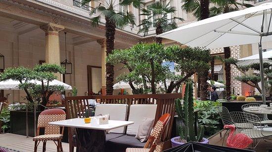 Prince de Galles, a Luxury Collection Hotel: the winter garden