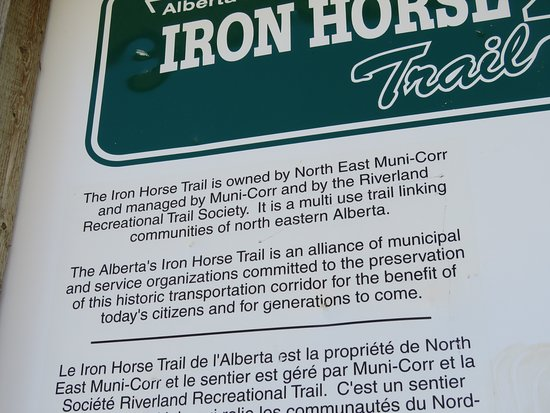 Alberta's Iron Horse Trail