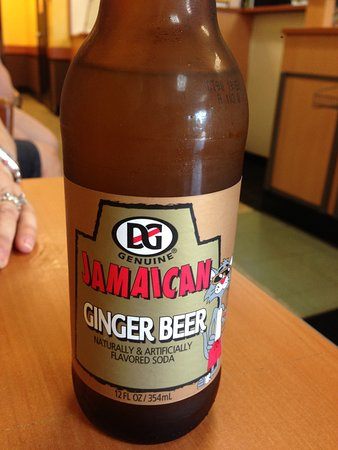Ewing, Nueva Jersey: Ginger beer was delicious - Like ginger ale with a much stronger ginger flavor.
