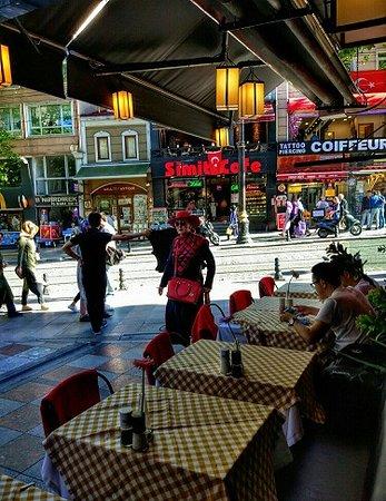 Faros Restaurant Old City : Как найти кафе с улицы