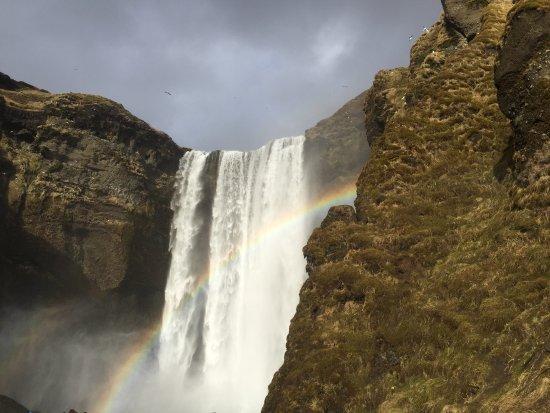 Kopavogur, Iceland: Skogafoss Waterfall