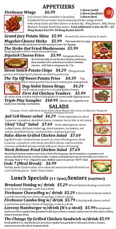 Graham, NC: Page 2 of the Menu