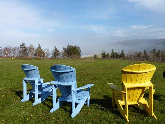 Dingwall, Canada: Muskoka Chairs overlooking the water