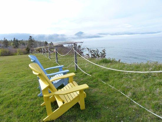Dingwall, Canada: Muskoka Chairs everywhere