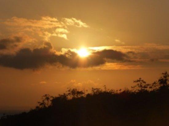 Cerf, Seychellen: Jeden Abend herrlichen Sonnenuntergang genießen...