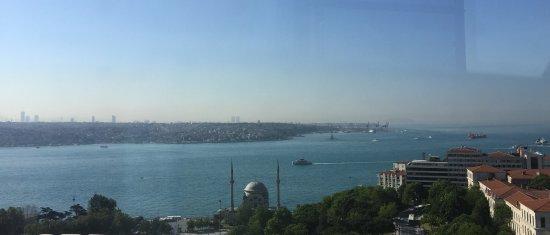 The Ritz-Carlton, Istanbul: view
