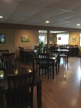 Boularderie, Kanada: Our new beautiful dining room.