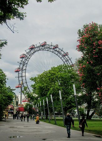 Riesenrad: Where harry lime counted the dots