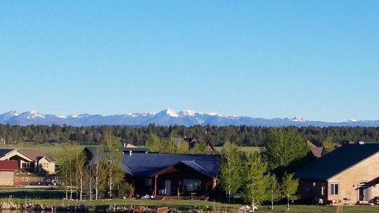 Wyndham Pagosa: View from the balcony