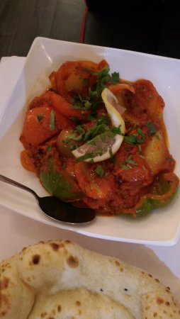 Hyde, UK: Chicken Tikka Karahi Shashlik