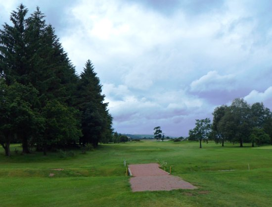 Bishopton, UK: View from 14th Tee