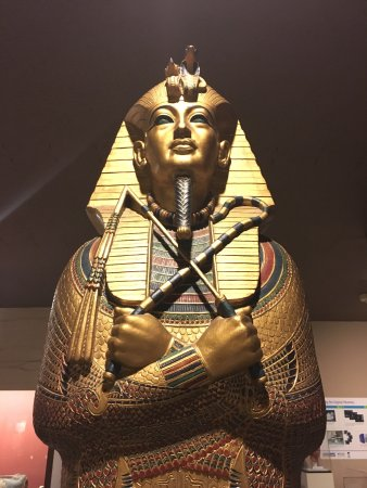 Rosicrucian Egyptian Museum: King Tut's Sarcophagus