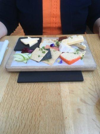 Llandysul, UK: Best ever cheese board