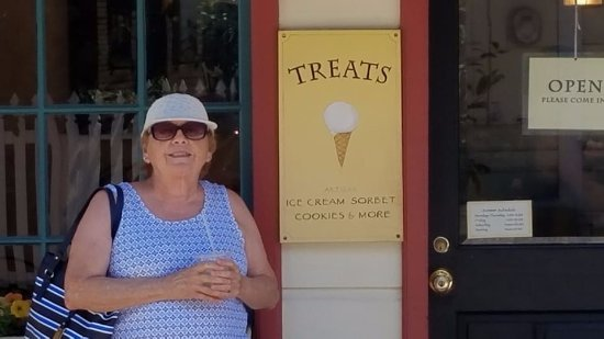 Nevada City, CA: It is my birthday smile. Delicious!