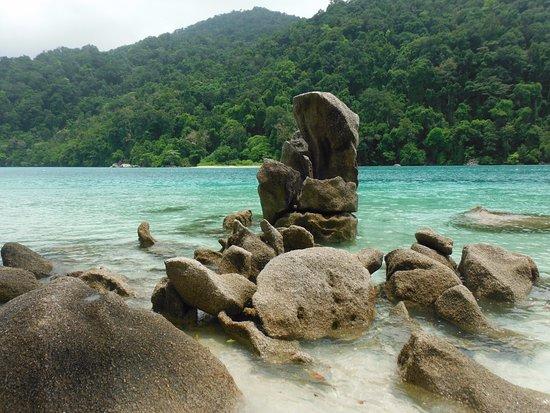 Khuraburi, Thailand: Water was so clear