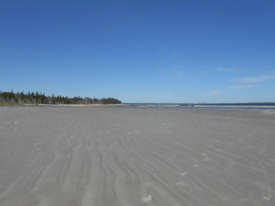 Shelburne, Canada: Another view of the beach.