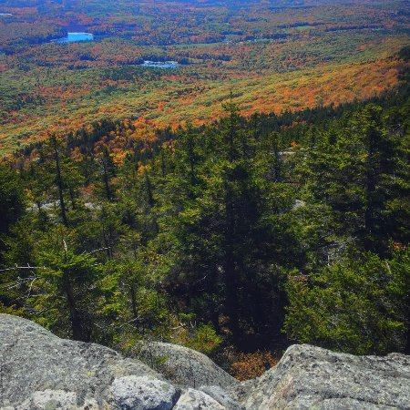 Jaffrey, NH: One of many false peaks
