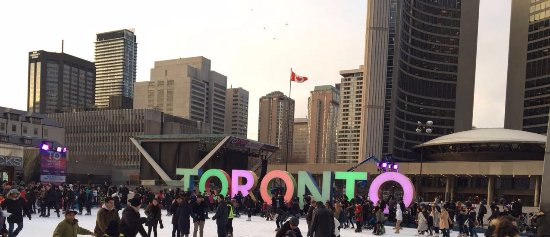 Nathan Phillips Square: LOVE IT