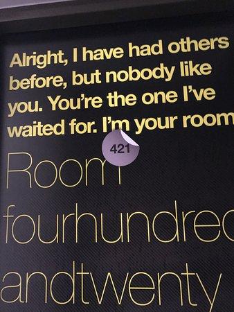 Conscious Hotel Vondelpark: The door to my room