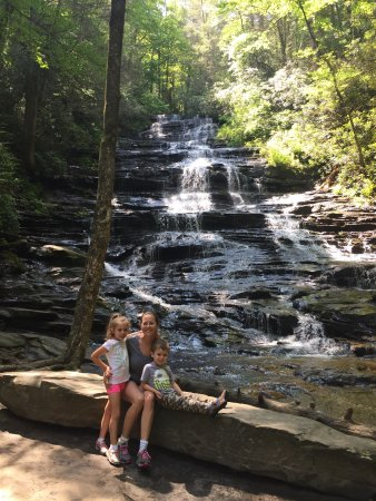 Lakemont, GA: We loved this place! Easy hike and great for kids!