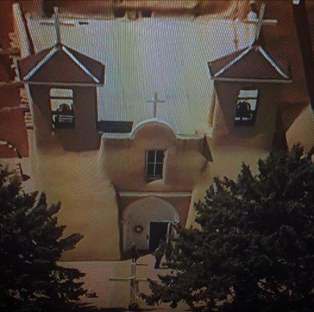 Ranchos De Taos, Нью-Мексико: San Francisco de Asis Mission Church in Taos