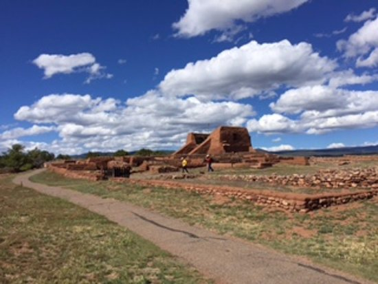 Pecos National Historical Park : Scene of the church ruins