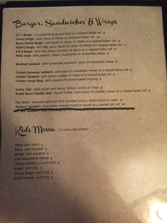Brewerton, Estado de Nueva York: New menu