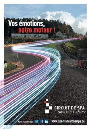 Circuit de Spa-Francorchamps : Vos émotions, notre moteur !