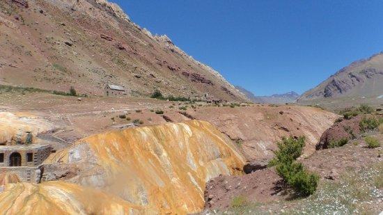 Las Cuevas, Argentina: paso dos Andes