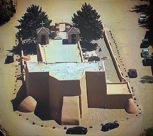 Ranchos De Taos, Нью-Мексико: San Francisco de Asís Mission Church in Taos