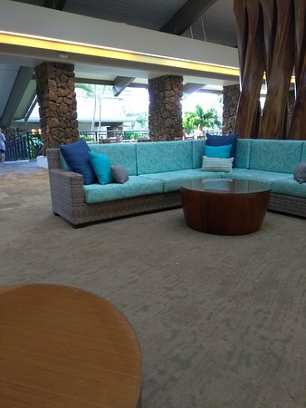Room and lobby area. Very nice.
