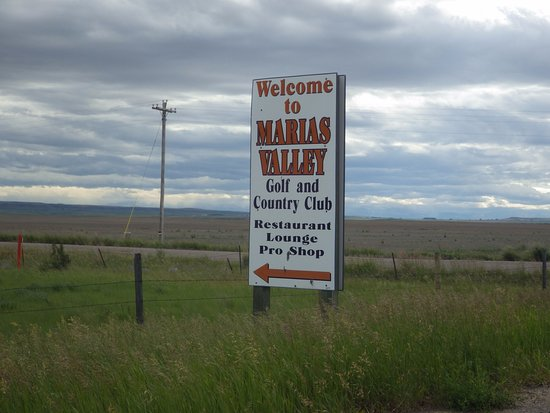 Shelby, MT: Welcome to Maria's Valley Golf and Country Club