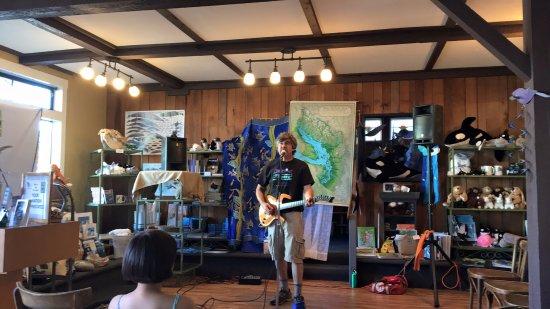 แลงลีย์, วอชิงตัน: Dana Lyons performing at a Langley Whale Center special event