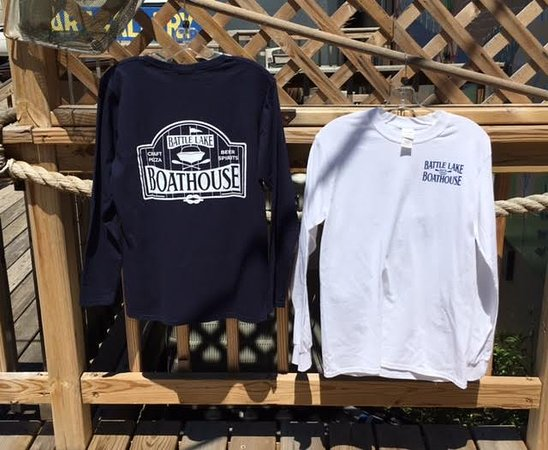 Battle Lake, MN: Men's Long Sleeve Tees