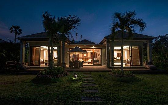 Kubu, Indonesia: Villa terras