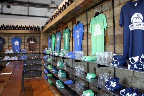 Waterloo, IA: Buy shirts, hats, bike jerseys, glasses, bottle openers, etc.