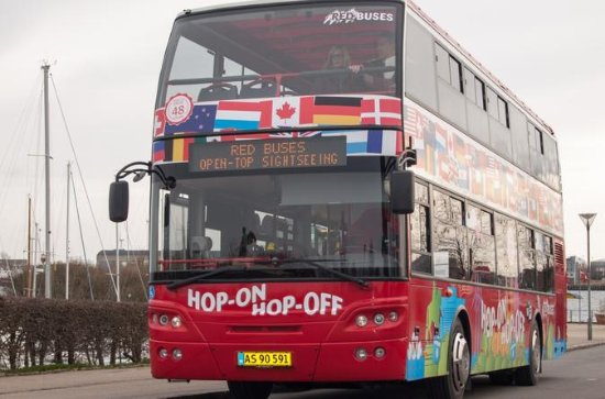 Ticket voor hop-on hop-off tour in Kopenhagen