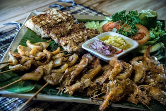 Resort Relax Bali: Mixwd seafood grill