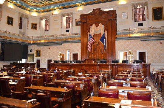 South Carolina State House: The Senate Chambers of the State House