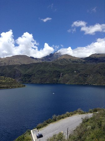 Laguna Cuicocha, Equador: Gorgeoous Lake at foot of Cotacachi Volcan