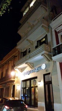 Fortaleza Street : View of Casablanca Hotel.