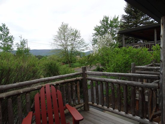 Tannersville, NY: view from our suite was phenomenal, perfect for city-weary travellers