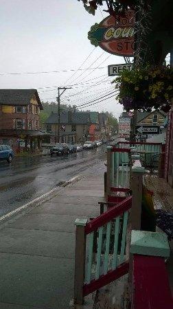 Tannersville, Nova York: main street in the town