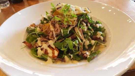 Corowa, Australia: Pulled pork salad