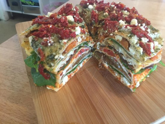 Corowa, Австралия: Grilled vegetable stack