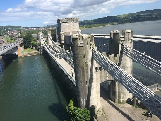 ‪Conwy Suspension Bridge‬