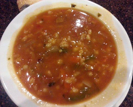 Скоки, Илинойс: a cup of beef barley soup