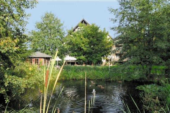 Lemgo, Deutschland: Gartenanlage