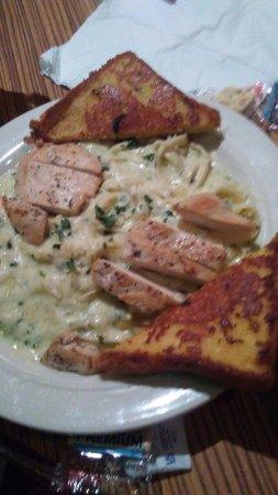 Campo, CA: Alfredo Pasta with chicken